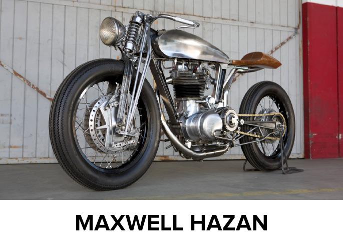 But American artist Maxwell Hazan did just that.