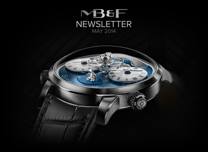 MB&F : a very special Legacy Machine born in the M.A.D.Gallery