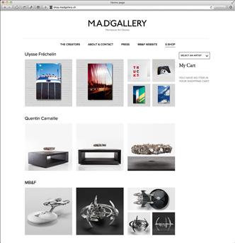 M.A.D. Gallery eshop