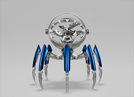 Octopod Blue - Face