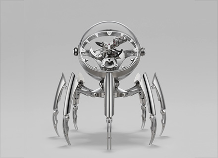 Octopod Silver– Face