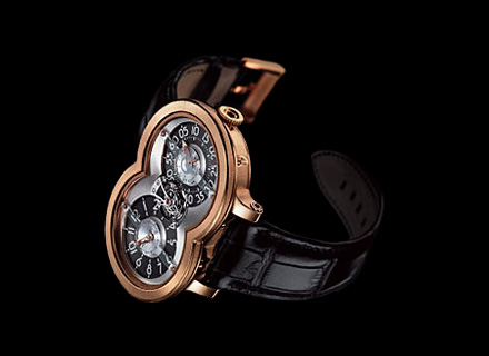 10.T41RL.S<br />18k red gold, silver/ruthenium dial