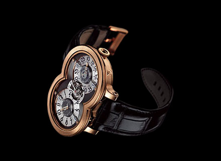 10.T41RL.R<br />18k red gold, ruthenium/silver dial