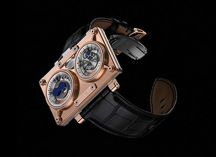 20.DRRTL.R<br />18k red gold & titanium<br />Limited edition of 125 pieces