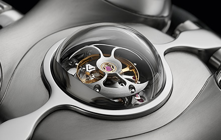 60-second flying tourbillon
