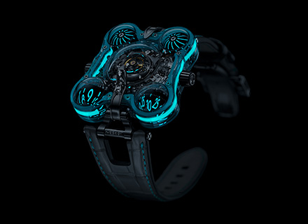 HM6 Alien Nation - Turquoise Front Night