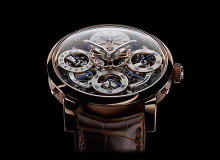 LM Perpetual<br/>Face Red Gold