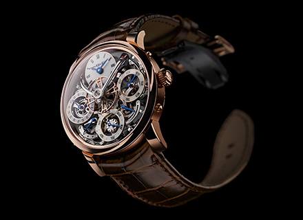 LM Perpetual<br/>Front Red Gold