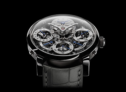 LM Perpetual<br/>Face White Gold