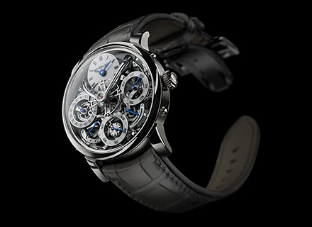 LM Perpetual<br/>Front White Gold