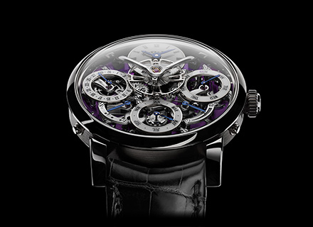 LM Perpetual<br/>Face White Gold Purple