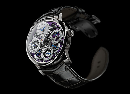 LM Perpetual<br/>Front White Gold Purple