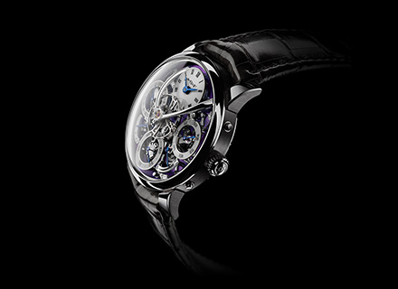LM Perpetual<br/>Profile White Gold Purple