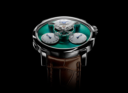 LM Split Escapement Ti Green<br/>Face