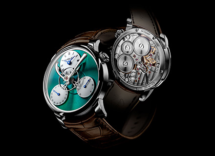 LM Split Escapement Ti Green