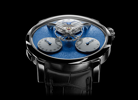 LM Split Escapement<br/>Face WG Blue