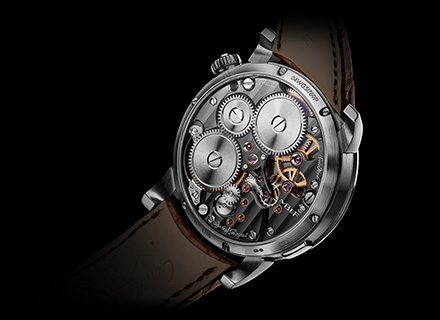 LM Split Escapement<br/>Back WG Ruthenium