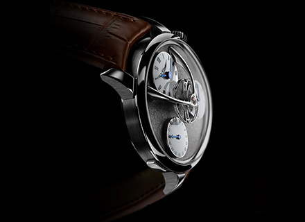 LM Split Escapement<br/>Profile WG Ruthenium