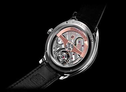 ENDEAVOUR CYLINDRICAL TOURBILLON<br>H.MOSER x MB&F<br>Back