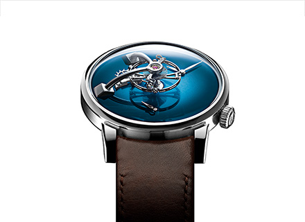 LM101 MB&F x H.MOSER blue<br>Face