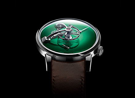 LM101 MB&F x H.MOSER green<br>Face