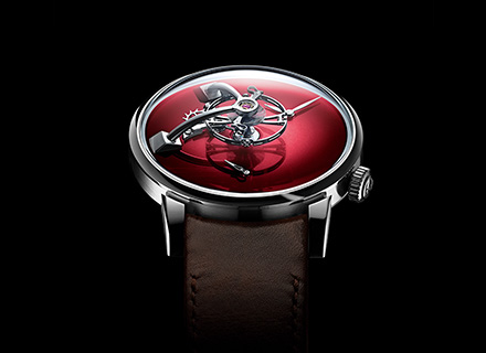 LM101 MB&F x H.MOSER red<br>Face