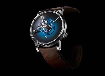 LM101 MB&F x H.MOSER Blue<br>Front
