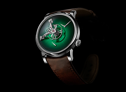 LM101 MB&F x H.MOSER Green<br>Front