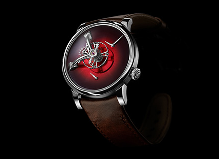 LM101 MB&F x H.MOSER Red<br>Front