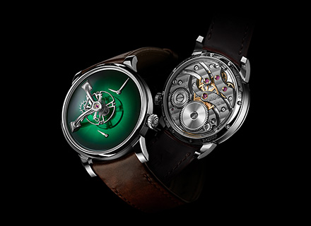 LM101 MB&F x H.MOSER Green