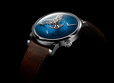 LM101 MB&F x H.MOSER Blue<br>Profile