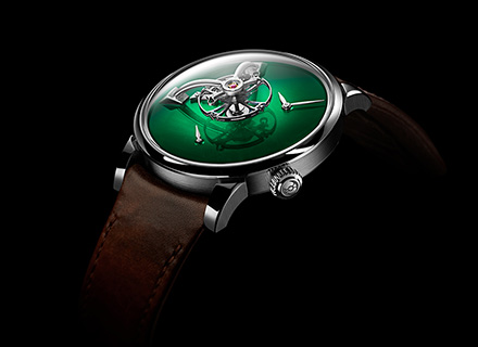LM101 MB&F x H.MOSER Green<br>Profile