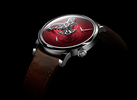 LM101 MB&F x H.MOSER Red<br>Profile