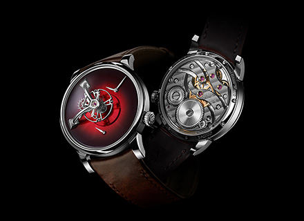 LM101 MB&F x H.MOSER Red