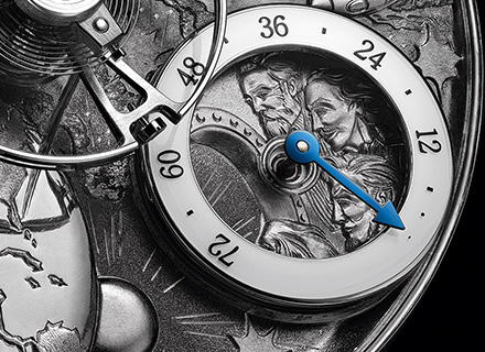 MB&F x EDDY JAQUET<br>Close up 3