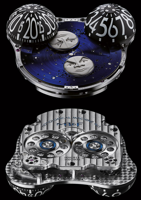 MB&F MOONMACHINE emgine