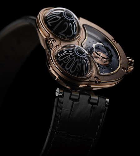 MB&F MOONMACHINE red gold