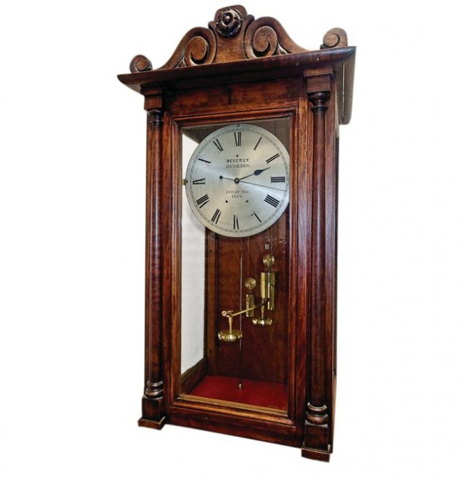 The clock's mechanism is driven by a variation in atmospheric ...